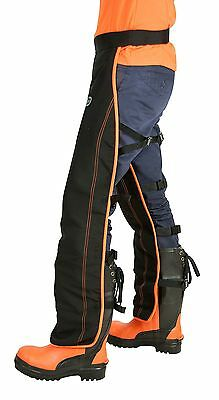 OREGON Universal Type A Chainsaw Safety Leggings/Seatless Trousers for Front ...
