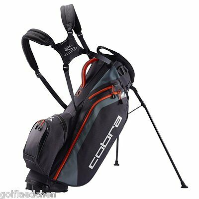 Cobra Ultralight Standbag / Golfbag - Grey / Orange - NEU 2016 - UVP 179€ - SALE