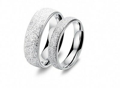Men's Lady's New Stainless Stell Dull Polish Ring Size 5-10 r002