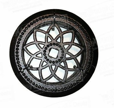 Round Double Board Acw 60Db-Ornamental Medallion Insert-Nuvo Iron