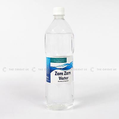 Zamzam Water 1L from Makkah Curative & Nutrient 100% Quality Natural Treatment