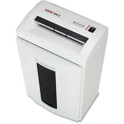 HSM Classic 104.3 Strip-Cut Shredder - HSM1286