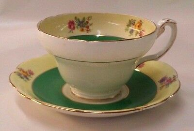 Vintage Cup And Saucer Foley China Good Condition