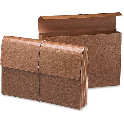 """Smead Expanding Wallet 3-1/2"""" Exp. Flap/Cord Legal, Redrope, Single(71356)"""