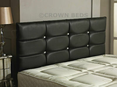 QUALITY DELUXE FAUX LEATHER HEADBOARD IN 2ft6,3ft,4ft,4ft6,5ft,6ft NEW!!!!!