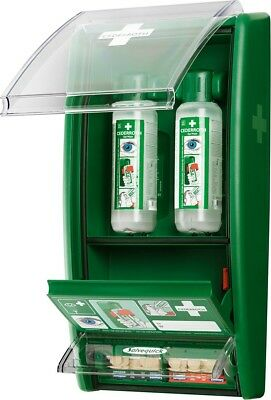 Eye Wash Station with Bandage Dispenser, First Aid Station, Cederroth 720970