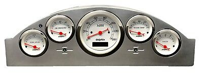 1957 Ford Car Gauge Cluster White
