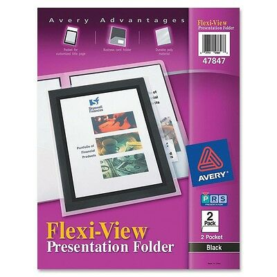 Avery Flexi-View Presentation Two Pocket Folder - AVE47847