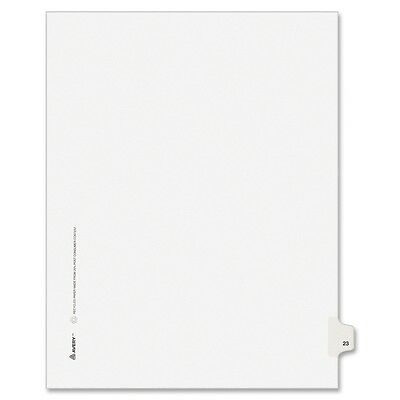 Avery Side-Tab Legal Index Divider - AVE82221