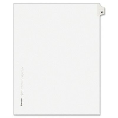 Avery Side-Tab Legal Index Divider - AVE82224
