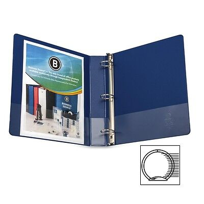Business Source Round Ring Binder - BSN28551
