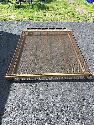 Antique Wiremesh Full Box Spring