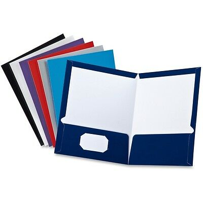 Oxford Laminated Twin Pocket Folders - OXF51730