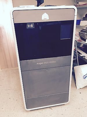 3D Systems ProJet 3500 HDMax 3D Printer Very Low Build and Lamp Hours/ Demo Unit