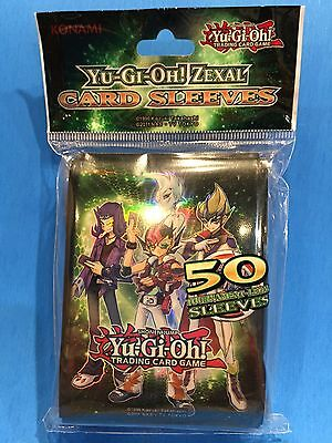 Yu-Gi-Oh (ZEXAL Card Sleeve) 50 Sleeves Deck Protectors Official Konami Product