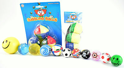 Stress Balls Mood Squeeze Emoji Face Toys Kids Party Favor Many Types To Choose