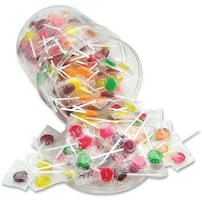 Office Snax Sugar Free Assorted Lollipops Tub - OFX00068