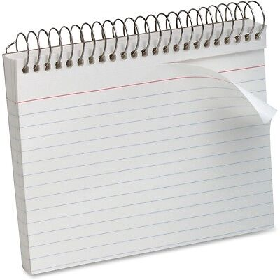 Oxford Spiral Bound Ruled Index Cards - OXF40283