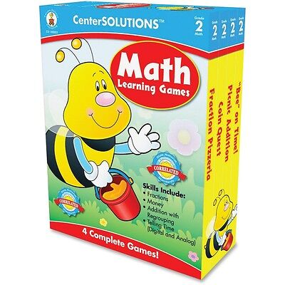 CenterSOLUTIONS Grade 2 Math Learning Games - CDP140052