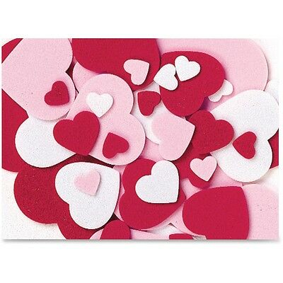WonderFoam Peel and Stick Hearts - CKC4316