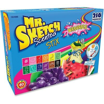 Mr. Sketch Scented Stix Washable Markers - SAN1924066