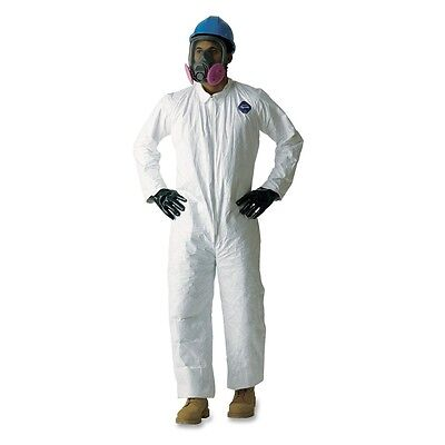 DuPont Tyvek TY120S Protective Coverall - DUP120SWHXXL00