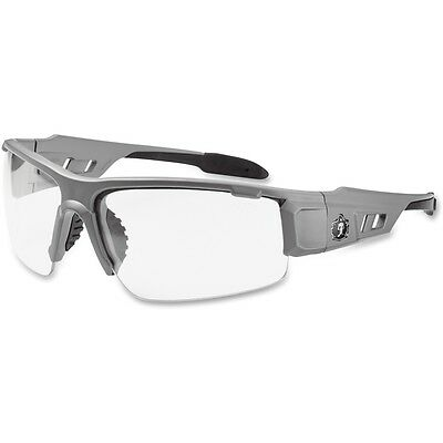 Ergodyne Clear Lens/Gray Half Frame Safety Glasses - EGO52100
