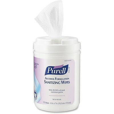 Purell Alcohol Hand Sanitizing Wipes - GOJ903106
