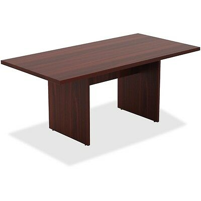 Lorell Chateau Series Mahogany 6' Rectangular Table - LLR34340