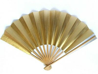 Vintage Japanese Geisha Odori 'Maiogi' Folding Dance Fan from Kyoto: Design JULL