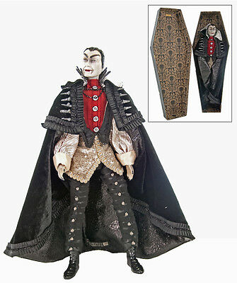 "Katherine's Collection Count Vampire In A Box 18"" 28-628046 Vampire w/Coffin"