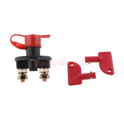 Racing Master Battery Quick Disconnect Cut/Shut Off Safety Kill Switch Car