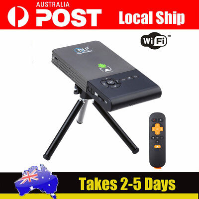 C2 Android 4.4 Mini Smart 1080P Projector 1GB + 8GB Support 5G Wifi & Bluetooth