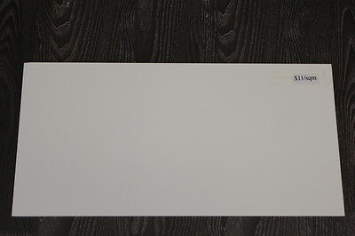 Gloss White Wall Tile Rectified 300*600*10mm