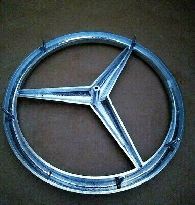 Mercedes Benz 170mm (MB100) 3D Chrome Front badge Brand New