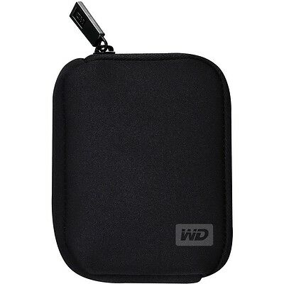 NEW Western Digital My Passport Carrying Soft Case Black HDD Hard Drive Pouches
