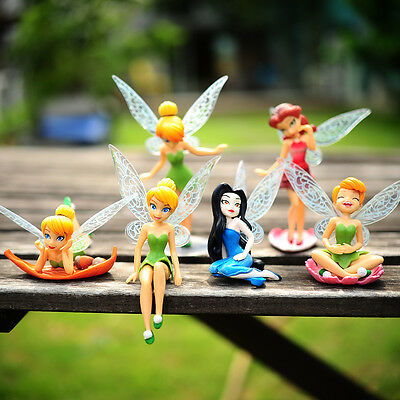 Cake Topper Figurine Figure Decoration Birthday Characters - Tinkerbell FAIRIES