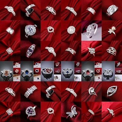 Wholesale Hot Fashion XMAS Gift Jewelry Solid 925STERLING Silver Men/Women Ring