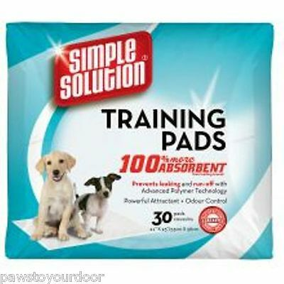 30 Welpe Toilette Training Pads Simple Solution Hund Haus