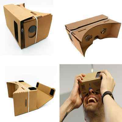 Virtual Reality Glasses Smart Phone VR Box Mobile 3D Glasses DIY Cardboard Cheap