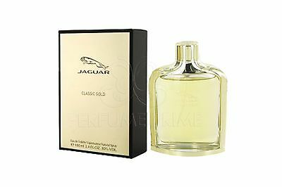 jaguar classic gold by jaguar 3 4 oz edt spray new tester. Black Bedroom Furniture Sets. Home Design Ideas