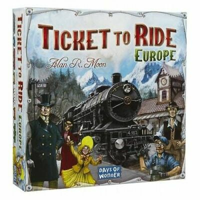 Ticket to Ride: Europe - Brand New & Sealed