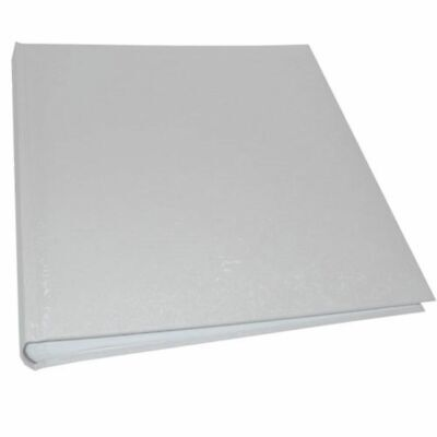 White Satin Wedding 6x4 Slip In Photo Album - 200 Photos