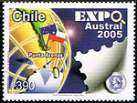Chile 1697  ExpoAustral MNH