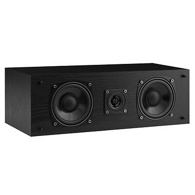 Fluance SXC High Definition Two-way Center Channel Speaker-Black