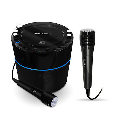 Electrohome EAKAR300 Karaoke CD+G Player - 2 Microphones for Duets