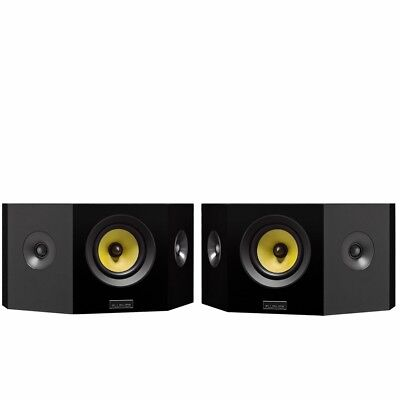 Fluance Signature Series Hi-Fi Bipolar Surround Sound Wide Dispersion Speakers