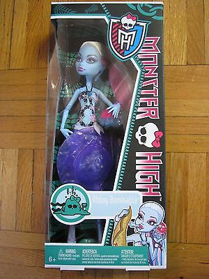 NEW MONSTER HIGH DOLL ABBEY BOMINABLE Daughter of a Yeti