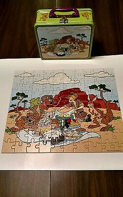 Scooby-Doo! Lunch box with puzzle