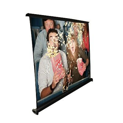 Pyle PRJTP46 40-inch Projector Viewing Display Screen with Manual Retractable Pu